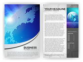 Business Flyer Template — Stock Vector