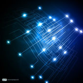 Eps10 design de vetor 3d colorida de rede — Vetorial Stock