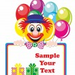 Happy Clown - Stock Vector