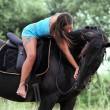 Riding girl — Stock Photo #8450481