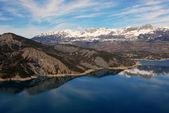 Lake Serre-Poncon — Stock Photo