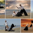Stock Photo: Aikido