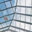 Glass and metal ceiling - Stock Photo