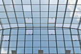Glass and metal roof — Stock Photo