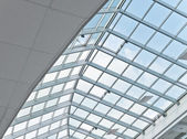 Business center ceiling — Stock Photo
