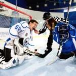 Playing hockey — Stock Photo #8548946