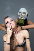 Smoking it is harm to the health — Stock Photo
