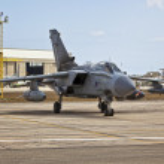 RAF Tornado — Stock Photo #7986405