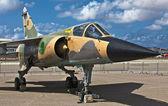 利比亚空军幻影 f1 reg 502 — 图库照片