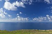土地の空と海 — ストック写真