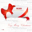 Gift cards with ribbon. Vector background — 图库矢量图片