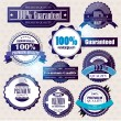 Royalty-Free Stock Vector Image: Set of Superior Quality and Satisfaction Guarantee Badges, Label