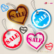 "Set of bubbles, stickers, labels, tags ""SALE. Vector illustratio - Stock Vector"