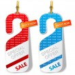 "Door tags, labels ""Special offer"". Vector — Stock Vector"