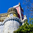 Tower of Pena Palace. Sintra. Portugal - Stock Photo