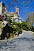 Pena Palace in Sintra. MUSEUM. Portugal. — Stock Photo