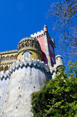 Tower of Pena Palace. Sintra. Portugal — Stock Photo
