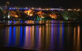 Night view on sea — Stock Photo
