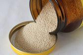 Dry yeast — Stock Photo