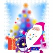 Royalty-Free Stock Vector Image: Santa Claus and Christmas tree