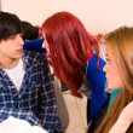 Student flirt — Stock Photo #10043262