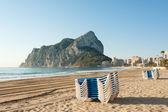 Calpe beach resort — Stock Photo