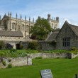 Christ church college — Stock Photo