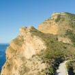 Road on the Mediterranean — Stock Photo