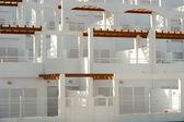 Honeycomb architecture — Stock Photo