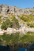 гора лагуна — Стоковое фото