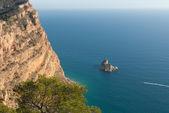 Steep cliffs — Stock Photo