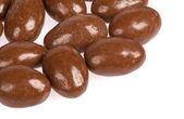 Chocolate almonds — Stock Photo