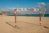 Campo di calcio di spiaggia — Foto Stock