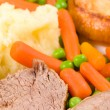 English Sunday lunch — Stock Photo #9525464