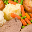 Traditional English Sunday lunch — Stock Photo #9525470