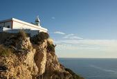 Albir lighthouse — Stock Photo