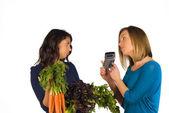 Veggie diet — Stock Photo