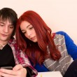 Student couple - Stockfoto