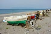 Tradycyjny rybackie łodzie — Zdjęcie stockowe