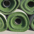 Stock Photo: Rolls of Artificial Grass