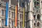 Münchner Rathaus — Stockfoto