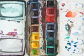 Watercolor Tray — Stock Photo