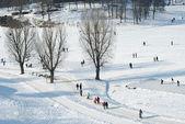 Recreación de invierno — Foto de Stock