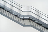 Metal Stairs — Foto Stock