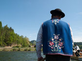 Rafting cruise -Dunajec — Stock Photo