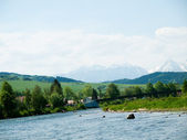 Dunajec River-Poland — Stock Photo