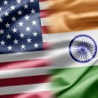 USA and India — Foto de Stock