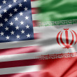 Stock Photo: USand Iran