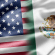 Stock Photo: USand Mexico
