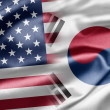 Stock Photo: U.S. and South Korea